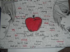 Death Note page by ThatKidErin