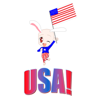 Usa-Bunny by Kitty-the-Waterbaby