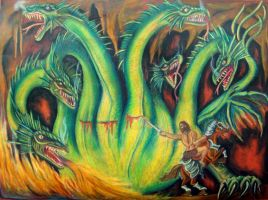 Slaying the Hydra by Morsus-7