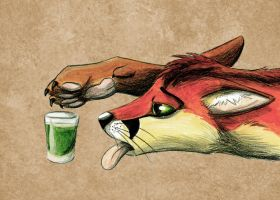 Green Tragedy Full Colour by Saffhire-Phoenix