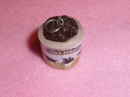fimo Ben and jerrys charm by ImagenedRose