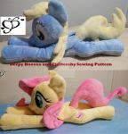 Derpy and Fluttershy Beanie Floppy Patterns  Etsy by SiamchuchusPlushies