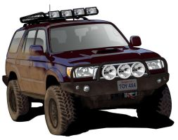 Third Gen 4Runner by randychen