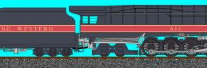 Norfolk and Western J 611 by carsdude