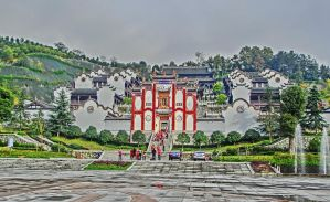 Qu yuan's temple. by Eiaolaf