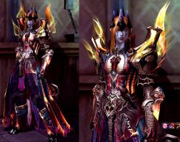 Mairon (Sauron) in Aion : Level 46 by fallenRazziel