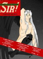 Sephiroth Pin-Up Cover by CrabOfDoom