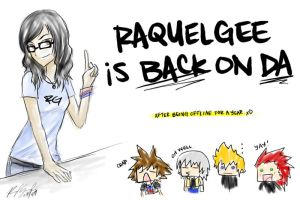 Prepare for RaquelGee by RaquelGee