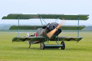 Fokker DR.1 (Reproduction) by Daniel-Wales-Images