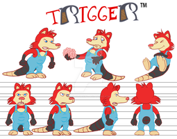 Trigger Model Sheet by Blackn-Yellow