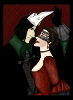 Severus and Evelyn - Masquerade Contest by JosieCarioca