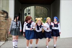 Sailor Moon - Juuban Highschool by LilyMilkshake