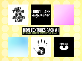 Icon Textures: Pack #1 by Kaleidoscopic-Dreams