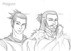 Hogun Sketches by theperfectbromance
