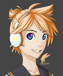 Len Kagamine by publicStupidity