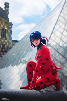 Ladybug at the Louvre~ by KillerChan
