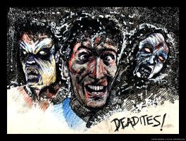 Deadites - Evil Dead Tribute by karthik82