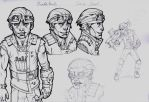 Games Design- Yourself as a character -Borderlands by Pencil-Fluke