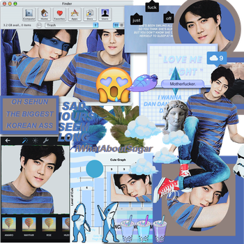 ~#OhSehun||Tumblr~ by iWhatAboutSugar