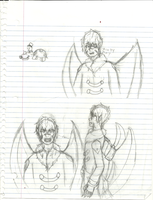 The many sketches of EOLUODFGHFDOGIH and turtle by MaiDair