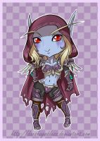 Lady Sylvanas Chibi by Daeshagoddess