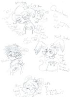 OCs badly behave or annoy Xmas 4 by Kittychan2005