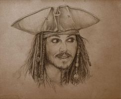 Jack Sparrow by Ngaladel