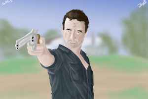 rick grimes by SsRBsS