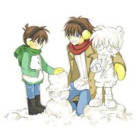 DC : Snowman contest by kim57n