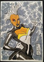 Storm Sketch Card by Dave-Acosta