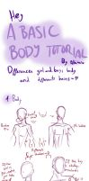 Basic tutorial for Body differences and hair by Albaharu