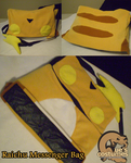 Pokemon Raichu Messenger Bag by Que-Sera-Sera