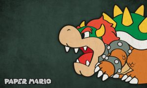 Bowser (Paper mario TTYD) by Elenwae