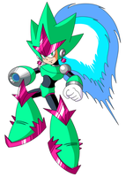 Mega Man Unlimited's Comet Woman by JusteDesserts