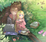 ::Contest Entry:: Under the Tree by SakuraAlice33