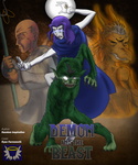Commission: Demon and The Beast by BlueSerenity