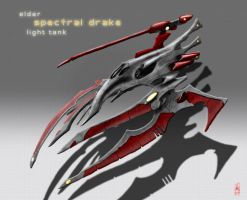 Eldar Spectral Drake by Addinarr