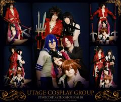 Utage Cosplay Group by KessyPsy