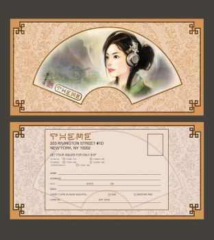 Contemporary CNS sub card by ChanpART