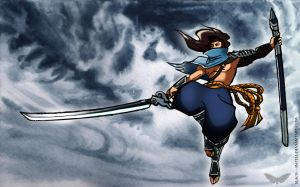 Yasuo - To Whom the Wind Bows by Black--Moth