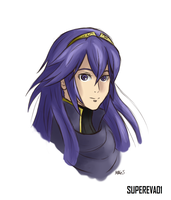 Lucina Colored Sketch by supereva01