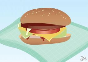 Just a Burger by robinweatherall