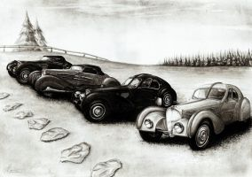 Bugatti Type 57 Four in One by Medvezh
