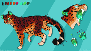 Jaguar Design For MeritFerret by Teelia