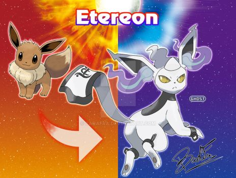 Eevee evolution: Etereon by badafra