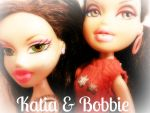 Katia and Bobbie Best Friends by chelseaxena