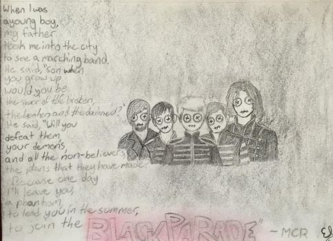 [MY CHEMICAL ROMANCE] The Black Parade by crystal115599