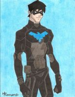 Nightwing by mahnnii