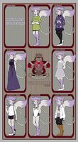 STM:: Weasels wearing Purple by Colatechi