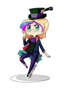 MH: Maria Erickson as the Mad hatter by Crazy-Luna